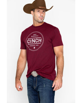 Cinch Men's Cinch Denim Co. Graphic T-Shirt, Blue, hi-res