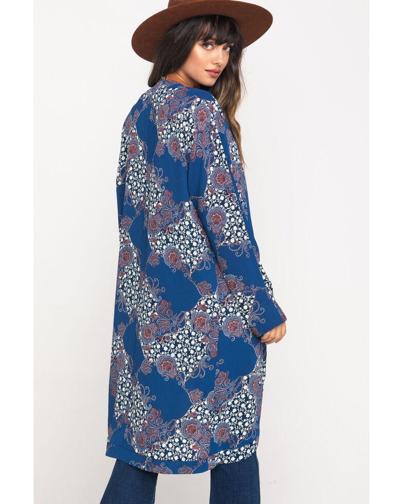 Cotton & Rye Outfitters Women's Multi-Color Kimono , Multi, hi-res