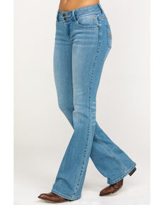 Idyllwind Women's Double Time Bootcut Jeans , Blue, hi-res