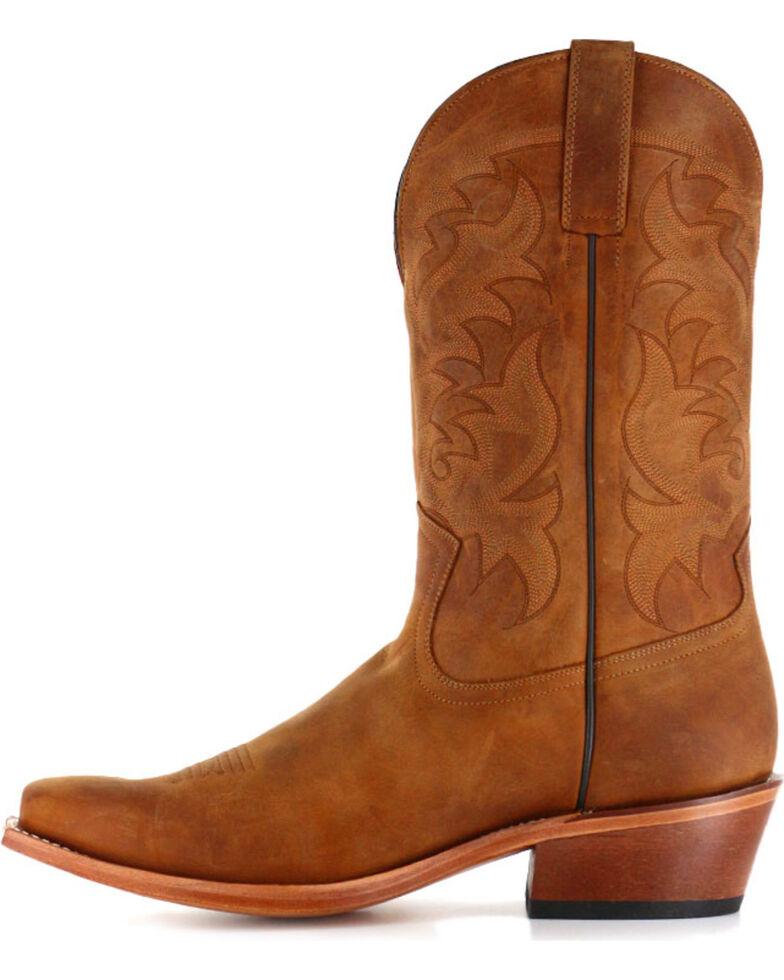 Moonshine Spirit Men's Crazy Horse Vintage Western Boots, Brown, hi-res