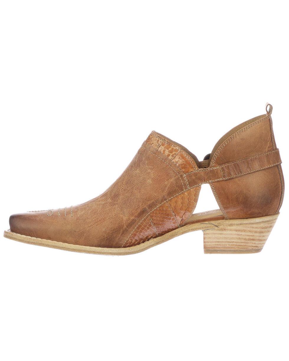 Lucchese Women's Ethel Fashion Booties - Snip Toe, Tan, hi-res