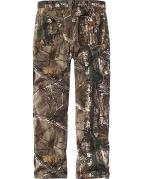 Carhartt Men's Camo Rugged Flex Rigby Dungarees - Straight Leg , Camouflage, hi-res
