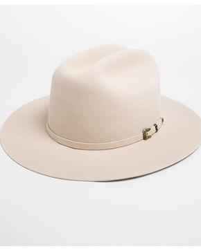 Justin Men's 15X Newman Fur Felt Cowboy Hat , Ivory, hi-res
