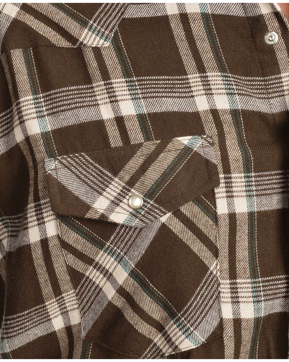 Wrangler Men's Assorted Flannel Shirt, Plaid, hi-res
