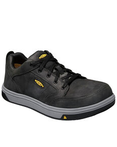 Keen Men's Redding ESD Work Boots - Aluminum Toe, Black, hi-res