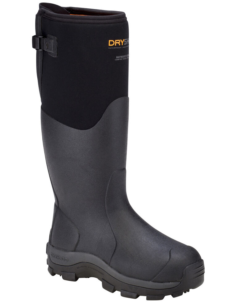 Dryshod Women's Haymaker Gusset Women's Boots, Black, hi-res