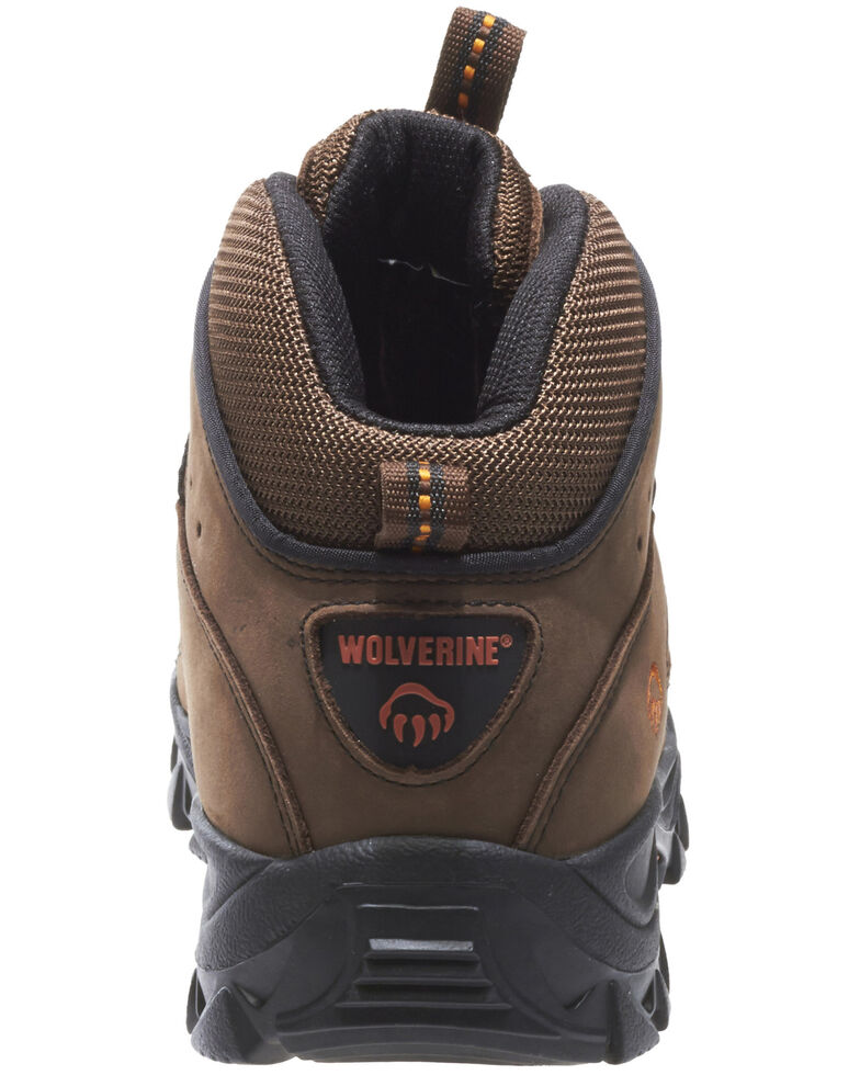 750e05b7221 Wolverine Men's Hudson Mid Cut Steel Toe Hiker Boots