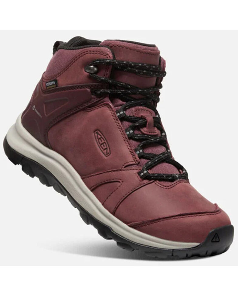 Keen Women's Terradora II Waterproof Hiking Boots - Soft Toe, Wine, hi-res