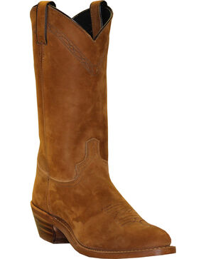 "Abilene Men's 12"" Western Work Boots, Dirty Brn, hi-res"