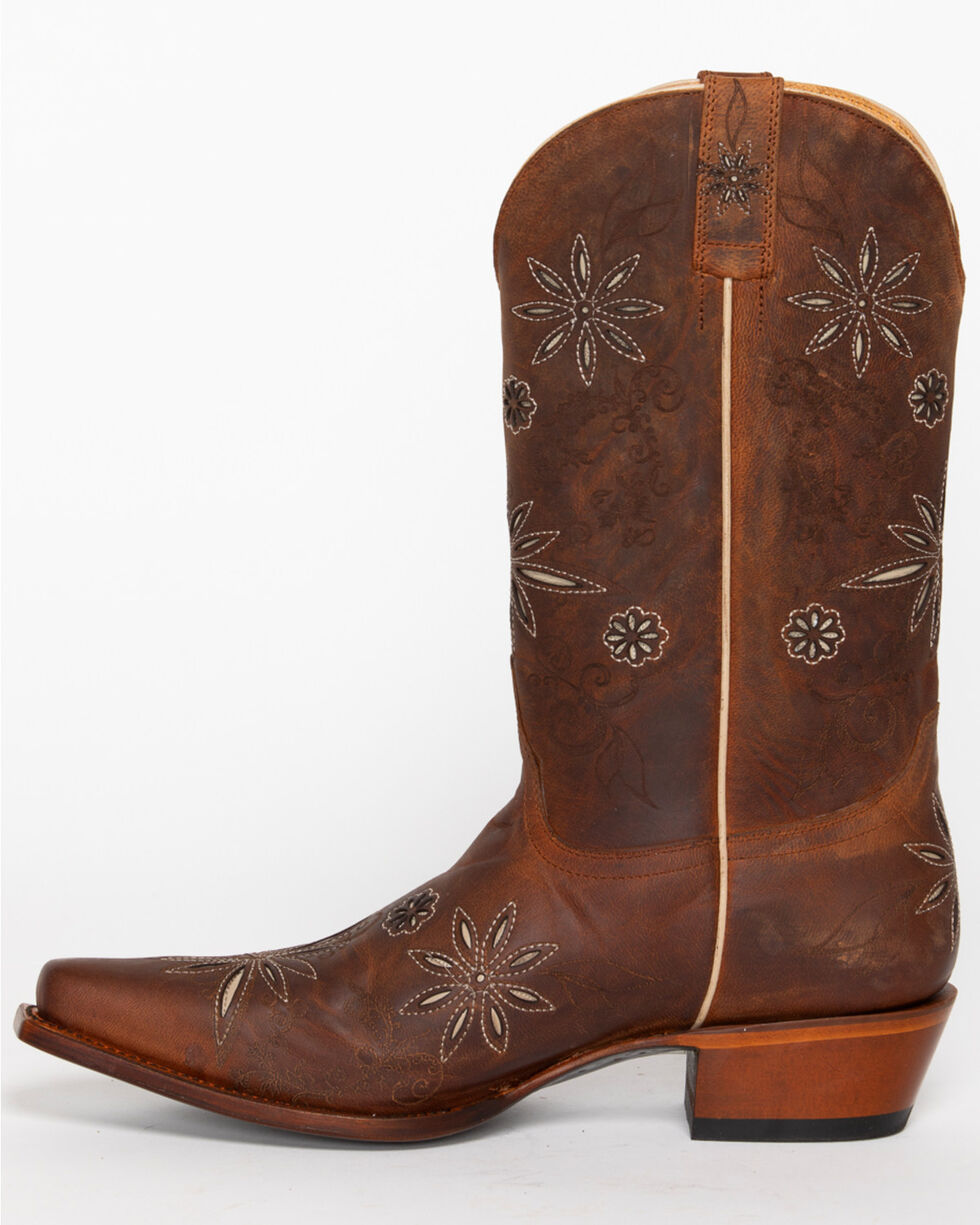 Shyanne® Women's Daisy Mae Western Boots, Distressed Brown, hi-res