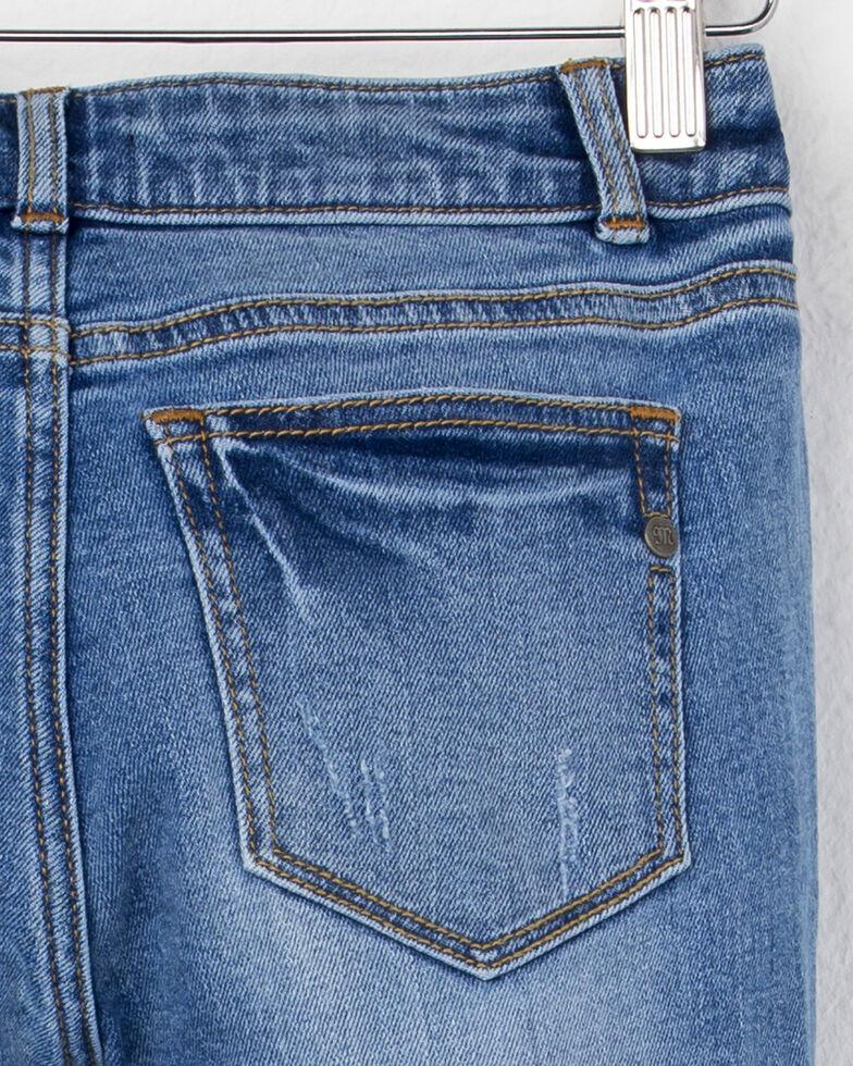 Miss Me Girls' Simple Skinny Jeans , Indigo, hi-res
