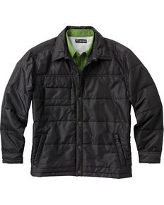 Dri Duck Men's Ranger Therma Puff Work Jacket, Black, hi-res