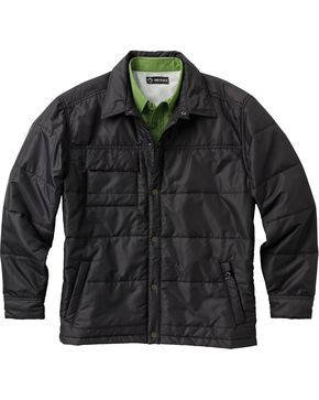Dri Duck Men's Ranger Therma Puff Work Jacket - 3X & 4X, Black, hi-res