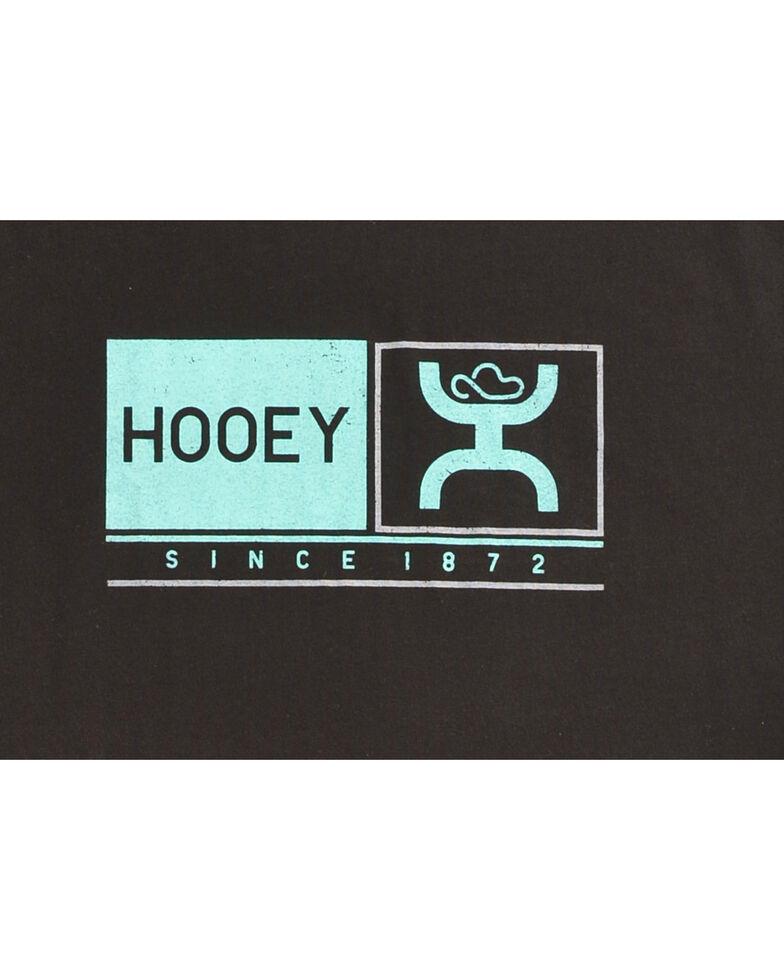 """Hooey Men's Black """"Roots"""" Cotton Tee , Black, hi-res"""