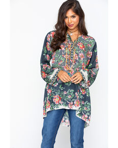 Johnny Was Women's Kish Tunic Top, Multi, hi-res