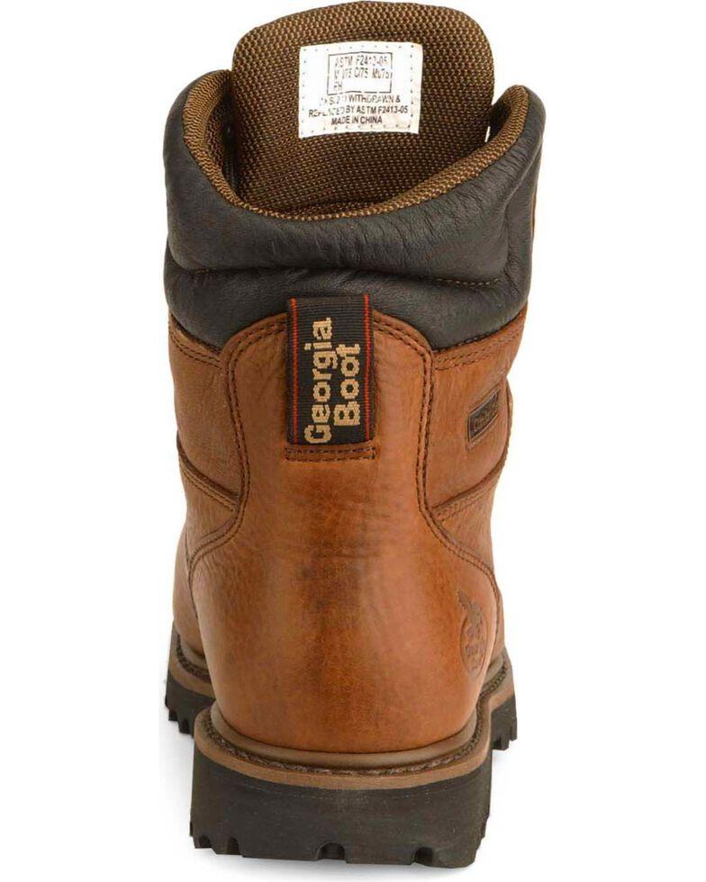 Georgia Men's Steel Toe Metatarsal Guard Work Boots, Briar, hi-res