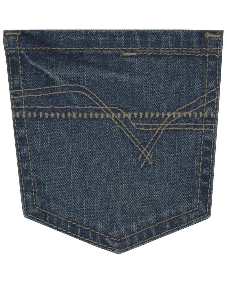 Wrangler 20X Boys' No. 44 Fallon Low Slim Straight Jeans - Big , Blue, hi-res