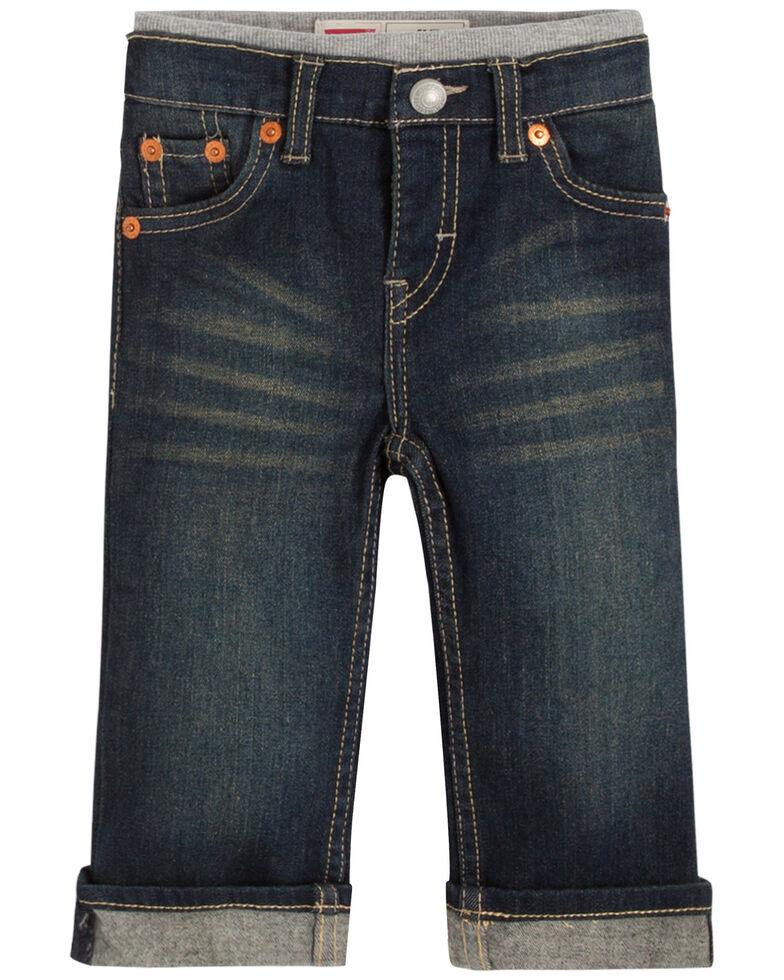 Levi's Infant Boys' Dark Murphy Pull-On Denim Pants , Blue, hi-res