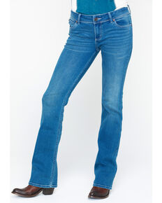 Wrangler Retro Women's Sadie Low-Rise Boot Jeans , Medium Blue, hi-res