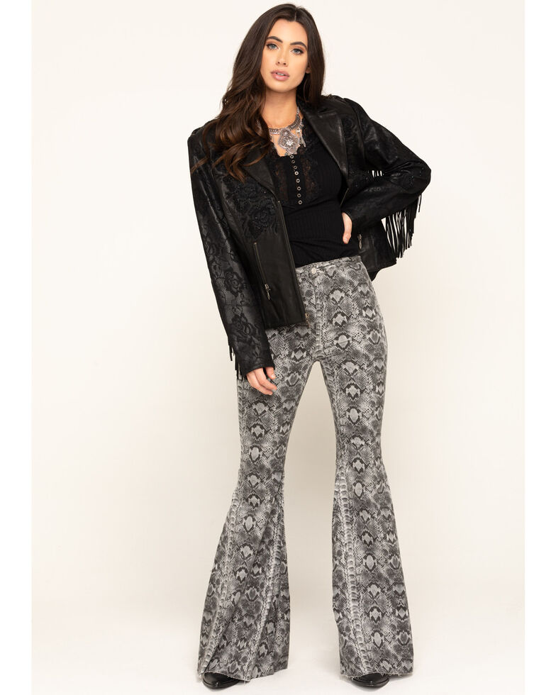 Double D Ranchwear Women's Black Night Shade Jacket, Black, hi-res