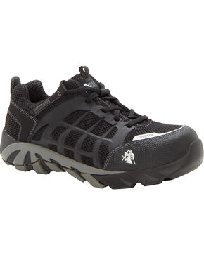 Rocky Men's Trail Blade Hiking Boots, Black, hi-res