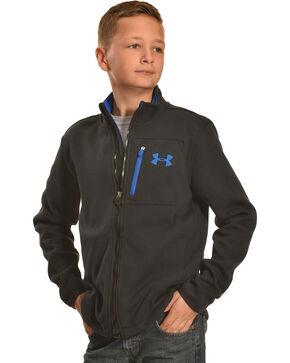 Under Armour Kids' Grantie Jacket, Black, hi-res