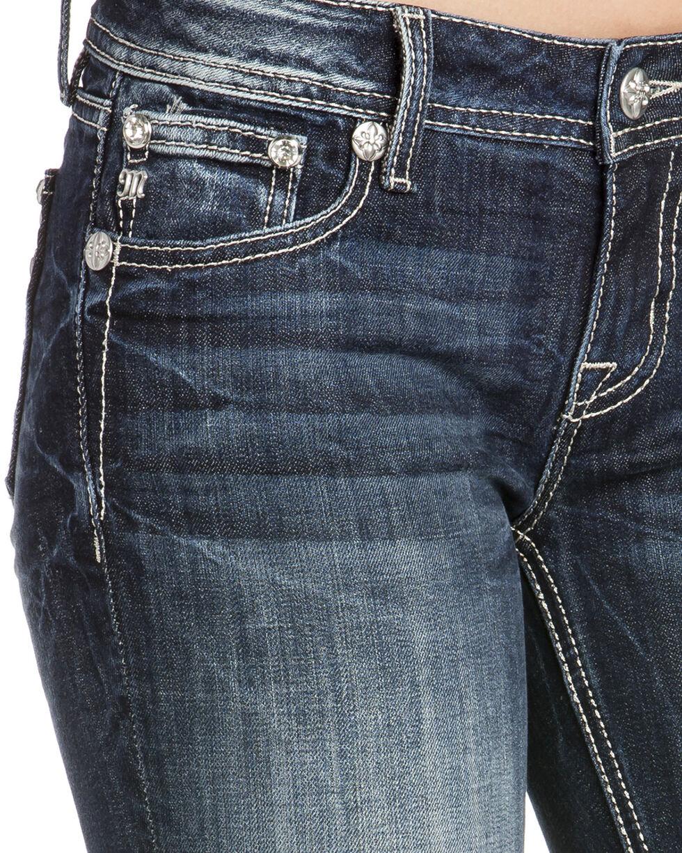 Miss Me Women's Sequin Skinny Jeans, Indigo, hi-res