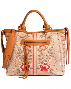 Johnny Was Women's Calida Overnight Bag, Beige/khaki, hi-res