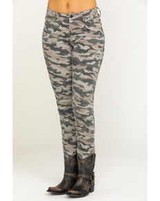 Idyllwind Women's Camo Skinny Jeans, Camouflage, hi-res
