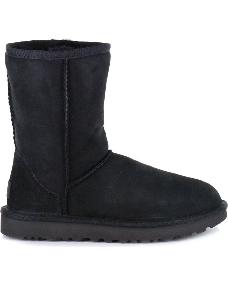 c77b0d2ceba4 UGG Women s Black Classic II Short Boots