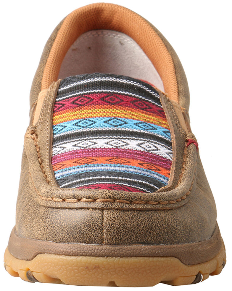 Twisted X Women's Cell Stretch Serape Slip-On Shoes - Moc Toe, Multi, hi-res