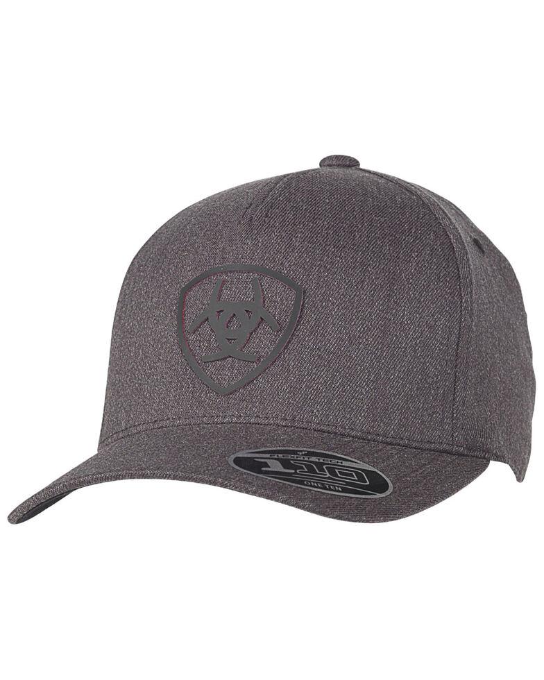 Ariat Men's Charcoal Embroidered Logo Ball Cap , Charcoal, hi-res