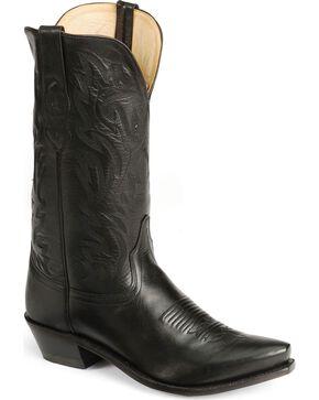"Jama Men's Fashion Wear 12"" Western Boots, Black, hi-res"