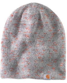 Carhartt Men's Space Dye Slouch Beanie , Grey, hi-res