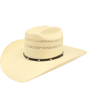 Ariat Double S 20X Straw Hat, Natural, hi-res