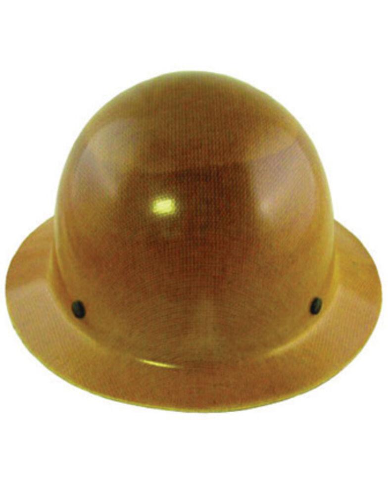 MSA Tan Skullgard FasTrac Full Brim Work Hard Hat , Brown, hi-res