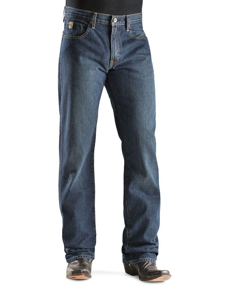 Ariat Men's Heritage Classic Fit Straight Leg Jeans, Dark Stone, hi-res
