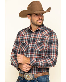 Ariat Men's Kemper Retro Snap Long Sleeve Western Flannel Shirt , Multi, hi-res