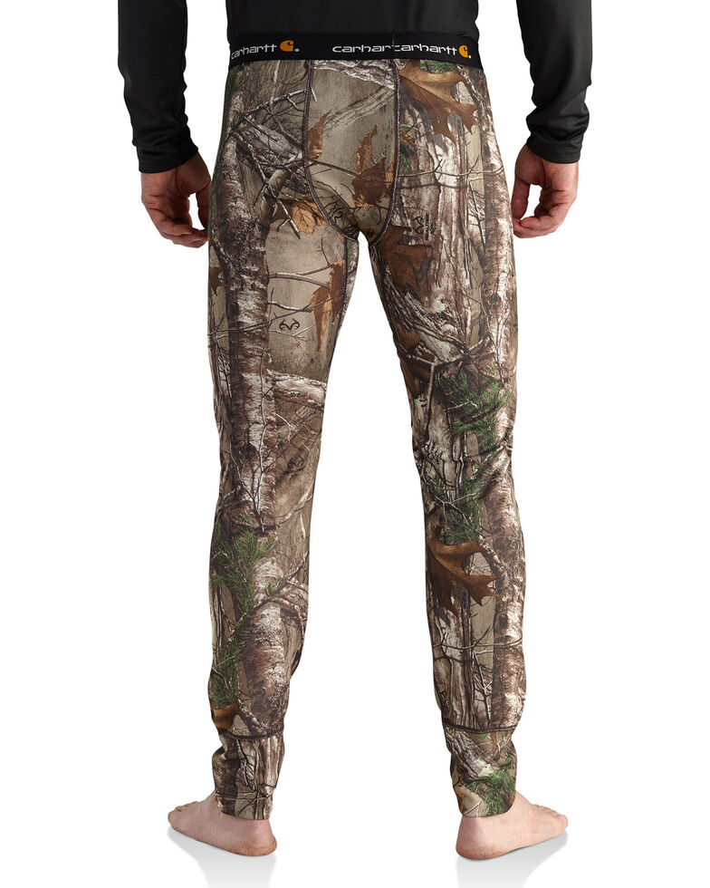 Carhartt Men's Camo Base Force Extremes Cold Weather Bottoms - Tall, Camouflage, hi-res