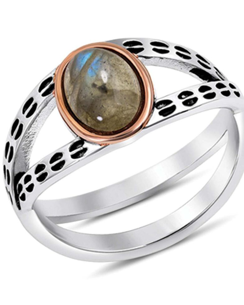 Montana Silversmiths Women's Path To Hidden Lake Ring, Silver, hi-res