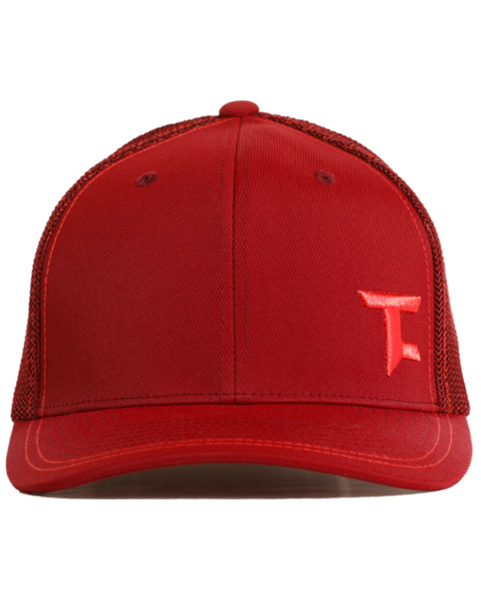 Tuf Cooper Men's Flexfit Ball Cap, Maroon, hi-res