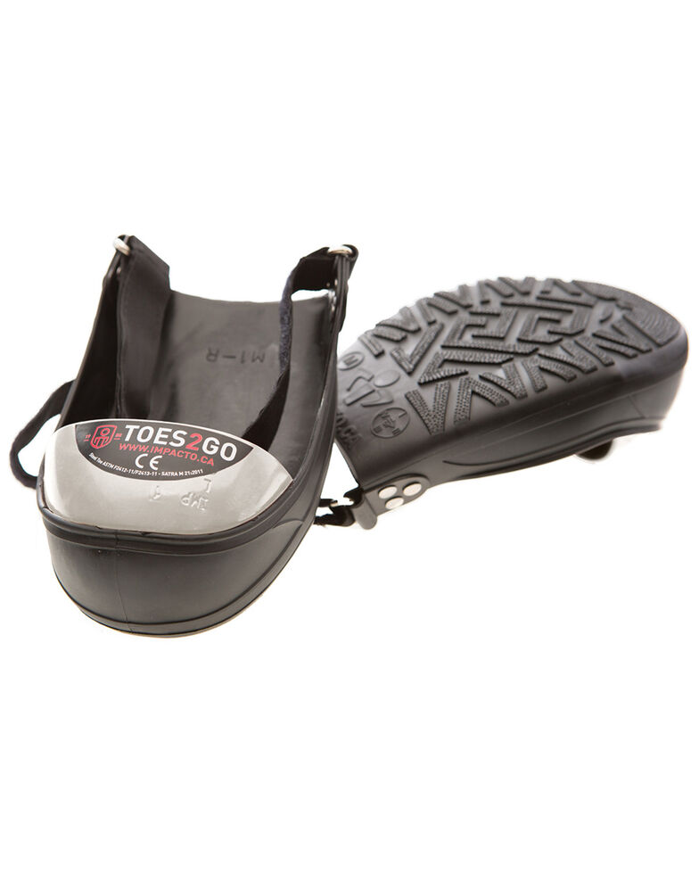 Impacto Toes2Go Steel Toe Cap - Small , Black, hi-res