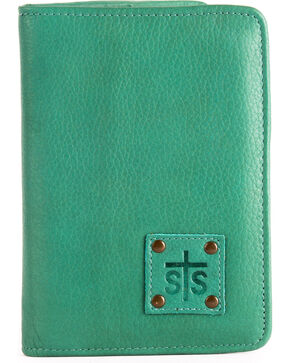 STS Ranchwear Jade Magnetic Wallet , Light Green, hi-res