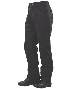 Tru-Spec Men's 24-7 Delta Cargo Work Pants , Black, hi-res