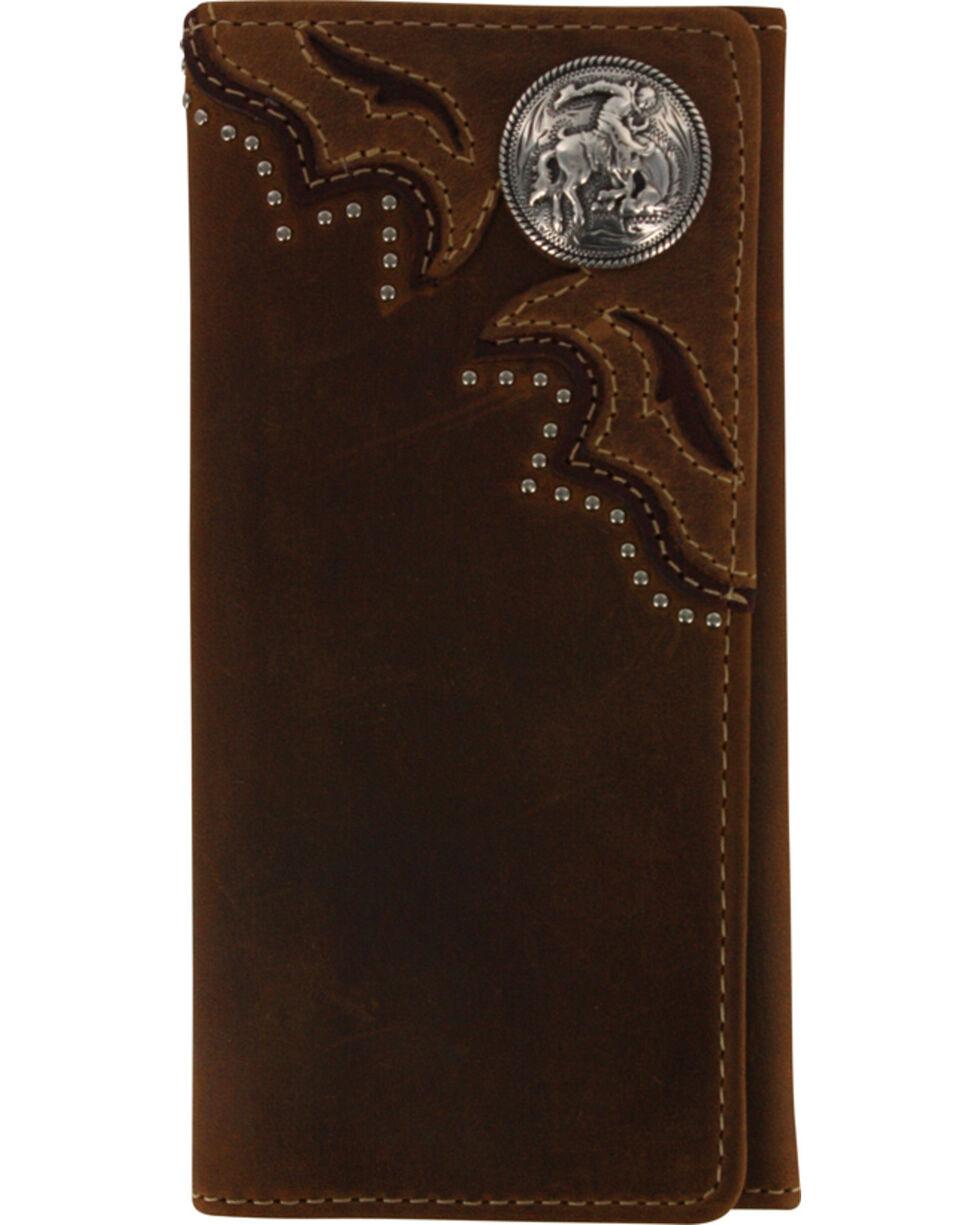 Cody James® Men's Leather Wallet, Brown, hi-res