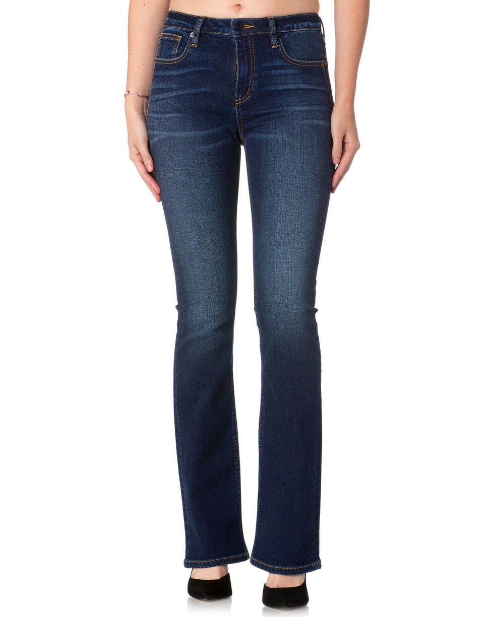 Miss Me Women's Stand Tall High-Rise Boot Cut Jeans , , hi-res