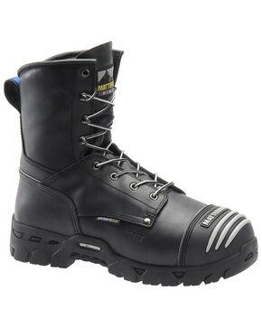 Matterhorn Men's Waterproof Lace-Up Work Boots - Composite Toe, Black, hi-res