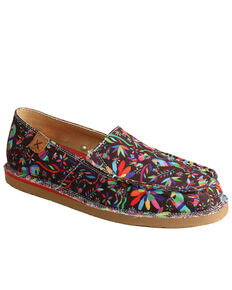 Twisted X Women's Colorful Casual Slip on Loafers - Moc Toe, Multi, hi-res
