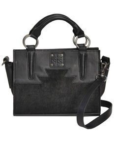 STS Rachwear Women's Black Mini Satchel, Black, hi-res