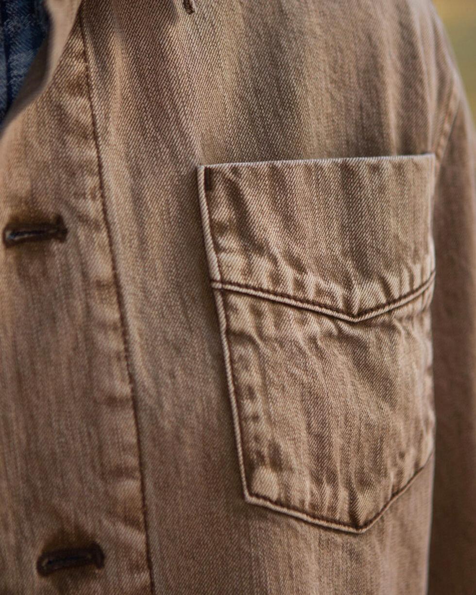 Ryan Michael Men's Vintage Barn Coat, Brown, hi-res